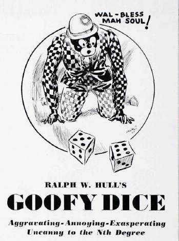 goofy dice