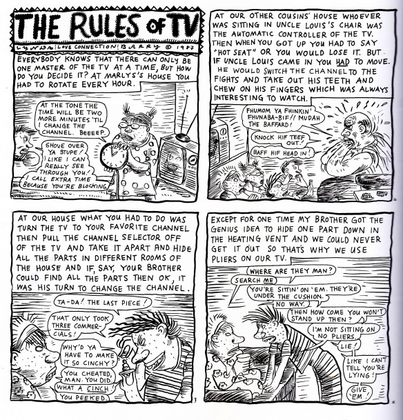 rules of tv