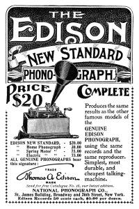Edison_New_Standard_Phonograph_advertsiement_1898