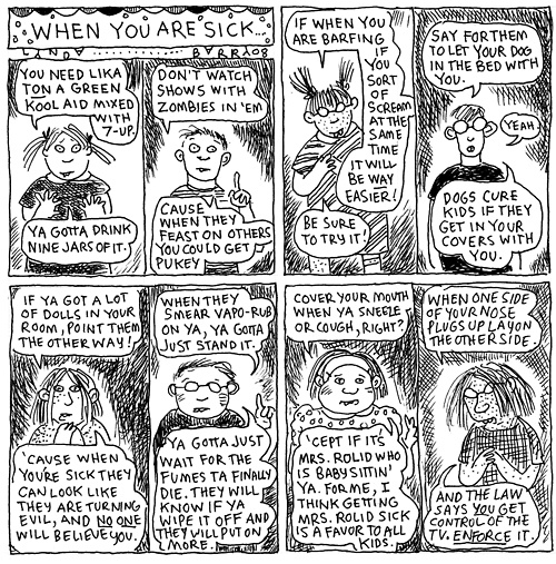 sick lynda barry