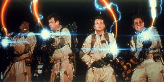 ernie hudson, dan aykroyd-bill murray-harold-ramis-ghostbusters