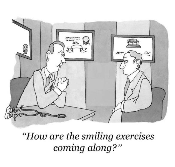smiling exercises